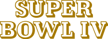 Super Bowl IV Logo.svg