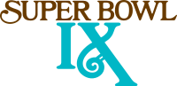 Super Bowl IX Logo.svg