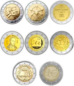Conmemorativas Bélgica