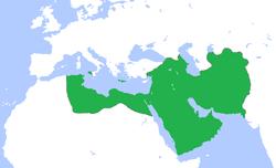 Ubicación de Califato Abasí