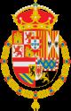 Escudo de Armas de Felipe II a Carlos II.svg
